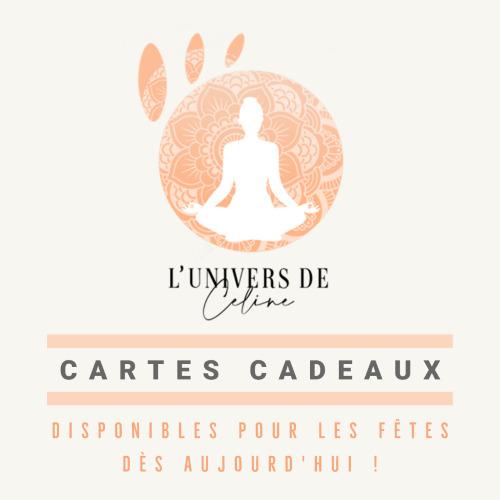 Cartes Cadeaux - L'Univers de Céline