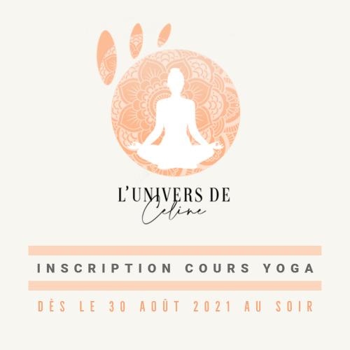 L'Univers de Céline - Inscription Cours Yoga